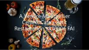 Restaurant Café Local professionnel Pizzeria a vendre