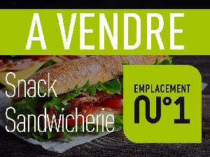 A vendre un fonds de commerce type snack sandwicherie à…